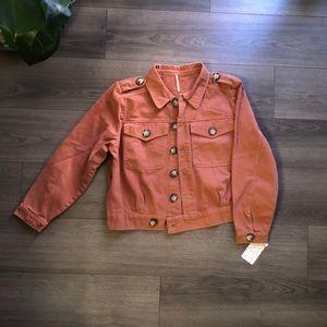 Free people Eisenhower denim jacket